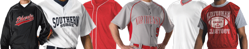 A complete line of apparel for baseball from Alleson Athletic
