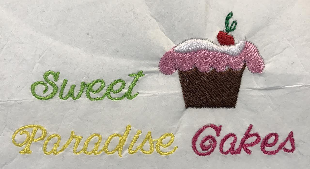 Logo for Sweet Paradise Cupcakes
