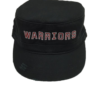 Embroidered Warriors Ladies Distressed Cap
